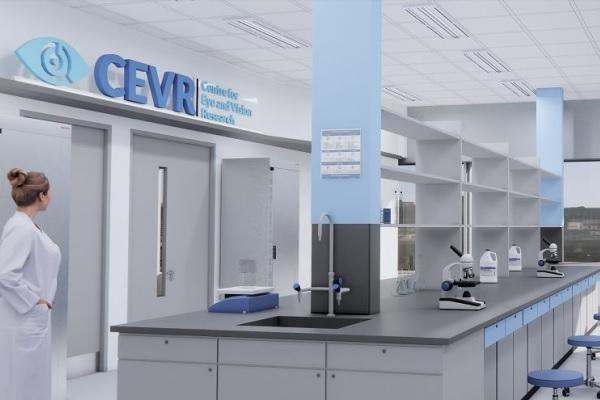 Fonte: Divulgação, 'Center for Eye and Vision Research'
