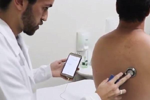 Estetoscópio digital desenvolvido na UFLA pode facilitar exames